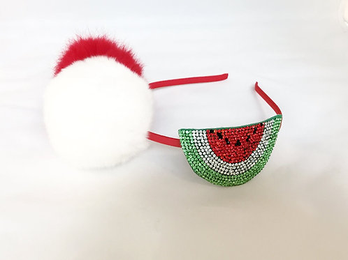 Watermelon Emoji Puff