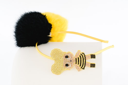 Bumble Bee LOL Doll Puff