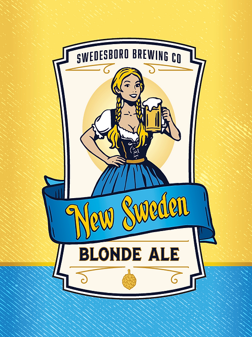 NEW SWEDEN BLONDE
