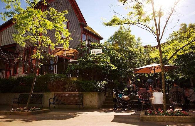 Caffe Cittadella exterior, best coffee