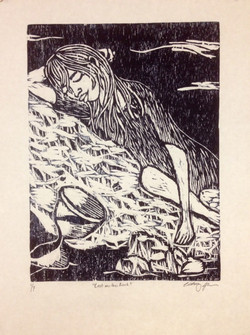 Woodcut-one color