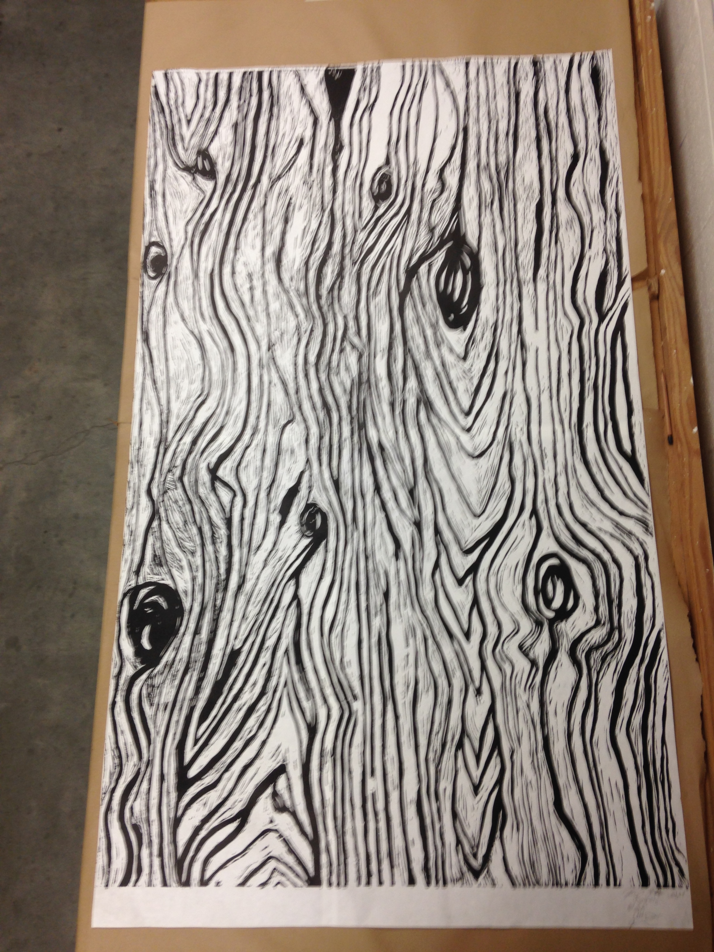 Large Scale Wood Block-SteamRoller