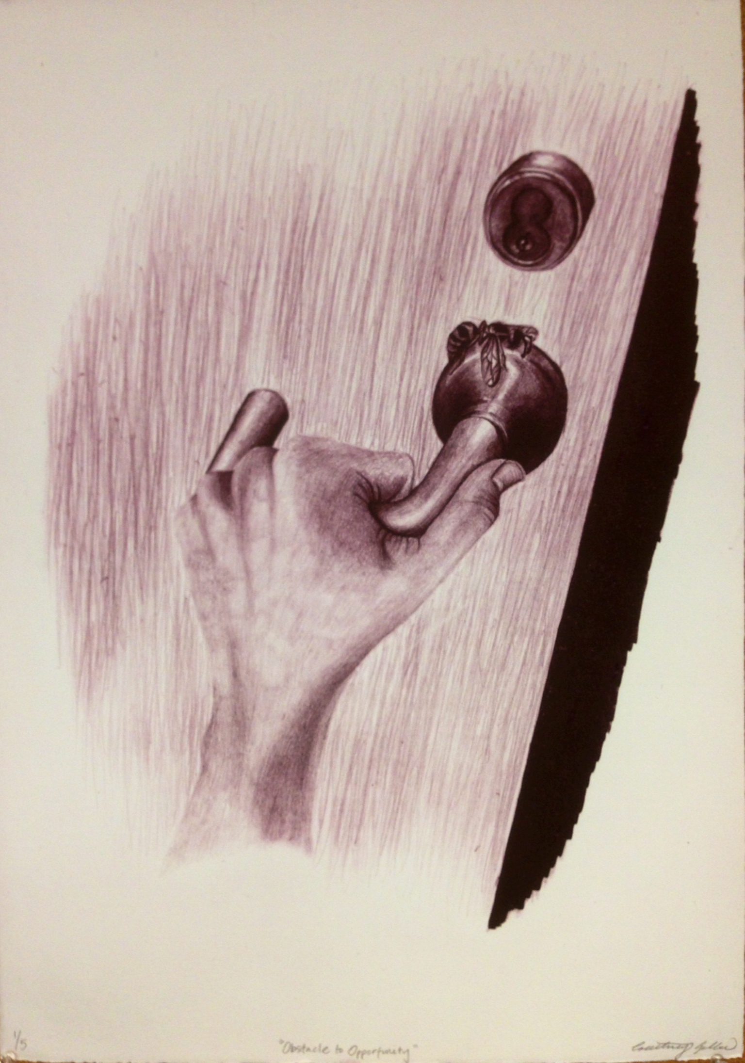 Lithograph-one color