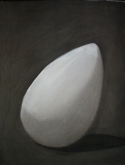 Charcoal and Conte