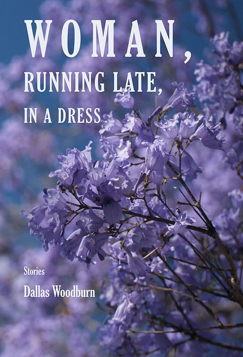 Dallas Woodburn - Woman, Running Late, in a Dress