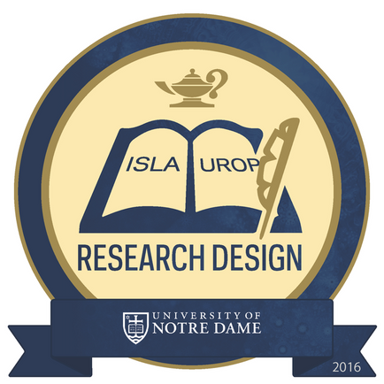 Levi Production awarded ISLA/UROP Research Badge