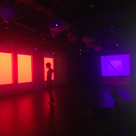 Projection designer: new music, Yale Center for Collaborative Arts & Media