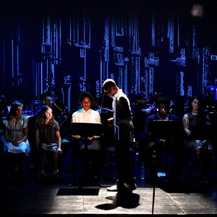 "Projection Designer: PROTOTYPE opera ""Stinney: An American Execution"""