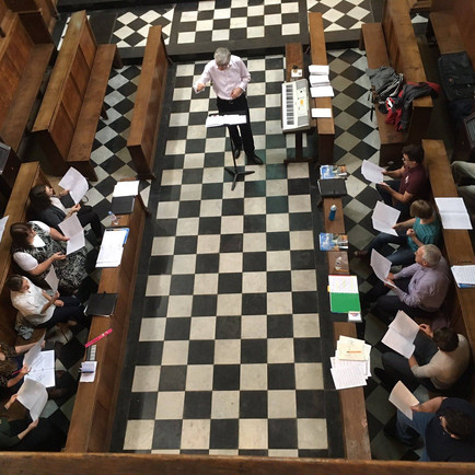 Singer: Oxford University Choral Summer Scholars