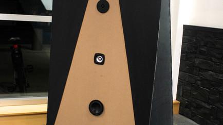 "Designed & Built: Voice pyramid installation ""Motet for Loudspeaker and Performer"""