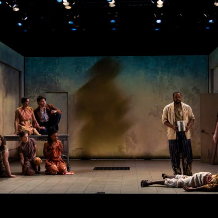 Assistant Projection Designer: Seven Spots on the Sun, Yale School of Drama