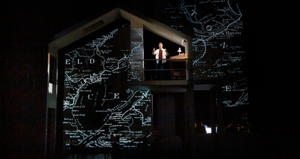 Projection Designer: Fun Home