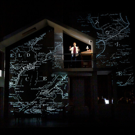 Projection Designer: Fun Home