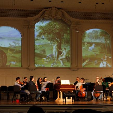 "Projection Designer & Translator: Scarlatti, ""Il Primo Omicidio"" [Yale Voxtet]"