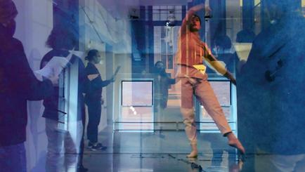 Video designer: improvised dance & choir