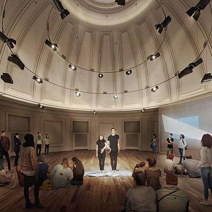 Interview: Yale Schwarzman Center (Creating during distance)