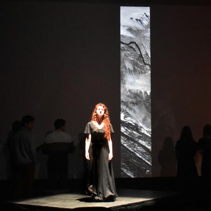 "Projection Designer & Soloist: Carissimi ""Jepthe"" oratorio"