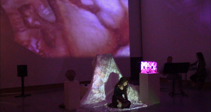 Voice & Projections: 'Stabat Mater', Digital Arts Expo