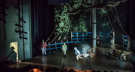 Projection Designer, Rossi's 'Orfeo', Yale Baroque Opera Project