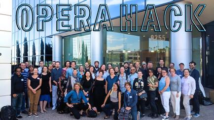 Opera Hack Conference, San Diego