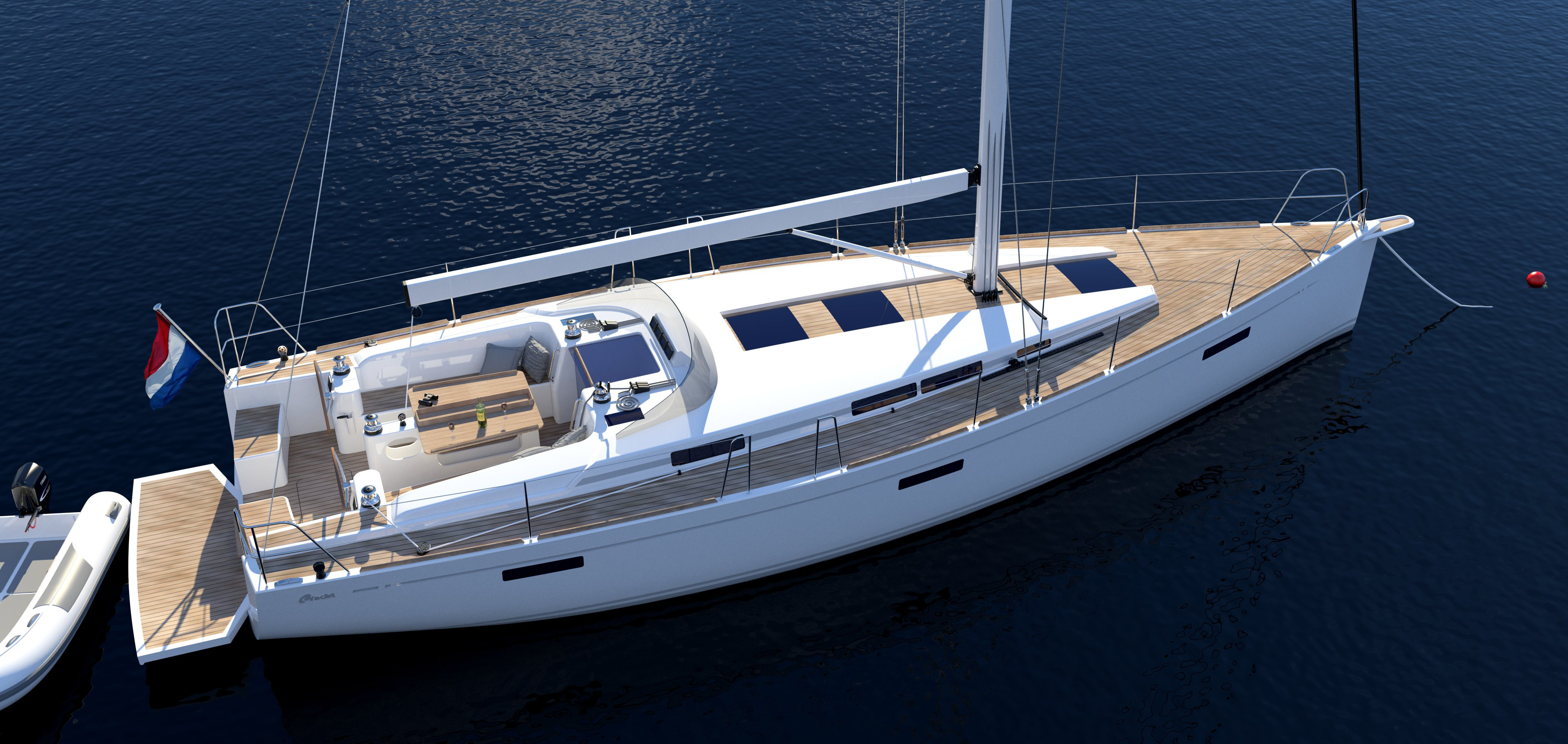 C-Yacht 42-47 deck layout