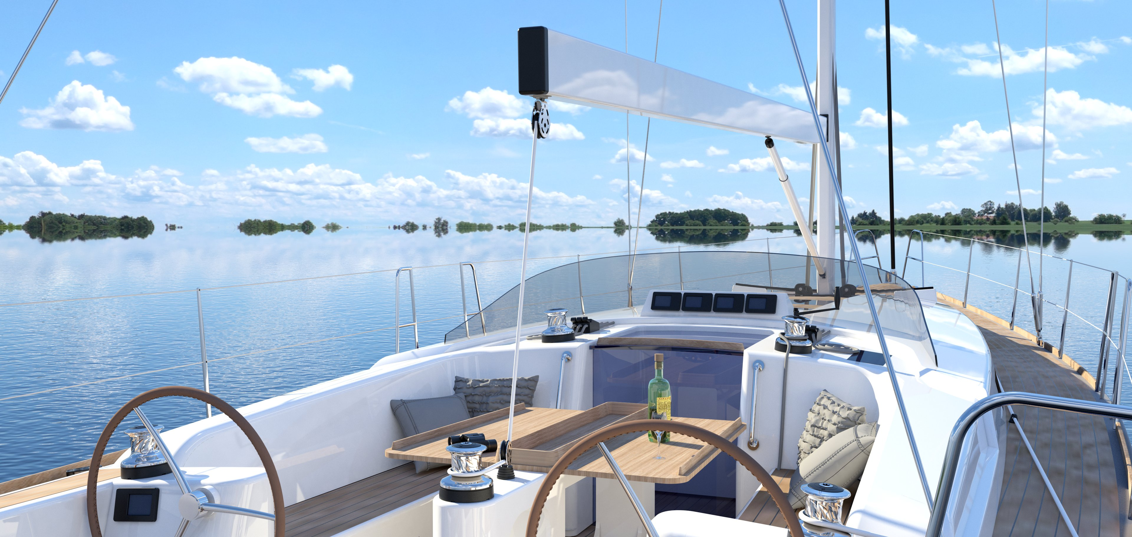 C-Yacht 42-47 deck view
