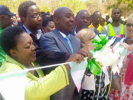 Mothers of Africa hands over Primary School to the people of Zambia