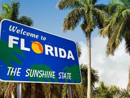 February 2019: I'm moving to Florida!