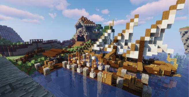 New Spawn Docks