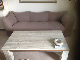 Rejuvinated B&B Italia Sofa with Brown Cotton (100%)