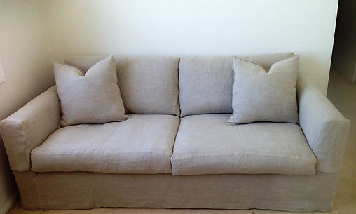Natural Linen Loose Covers