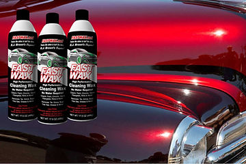 FastWax, Fast Wax, FW, RJ Brown's Original, Aerosol Wax, Waterless Wax, RJ Brown Racing, Twice the Shine in Half the Time, Kissimmee, Orlando, Florida