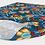 Thumbnail: Floral Headband Blue