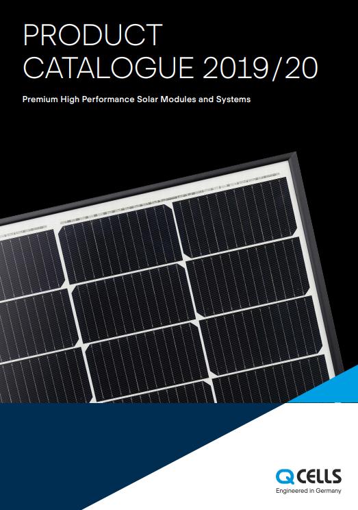 Q Cells - Product Catalogue