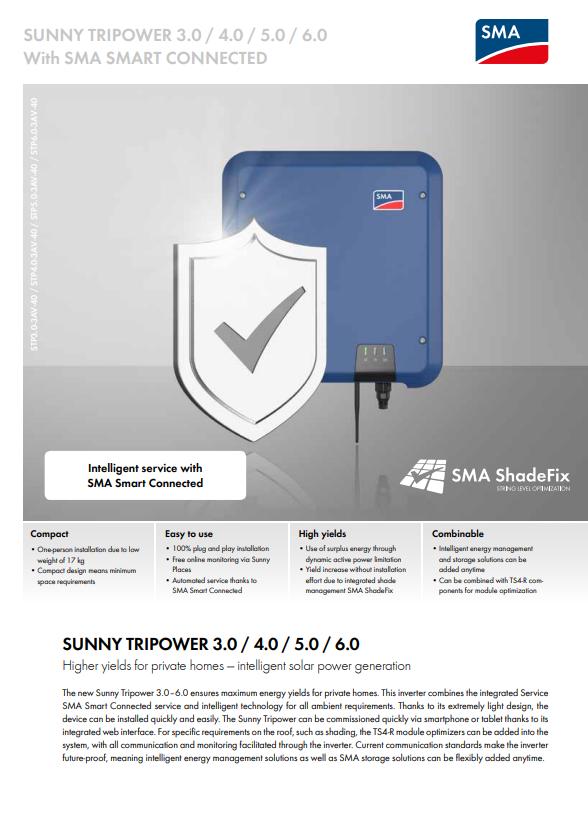 SMA - Sunny TriPower Inverter Data Sheet
