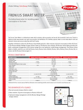 Fronius - Smart Meter - Data Sheet