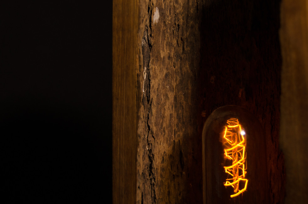 RAAW | Hollowed Lamp | Product Design