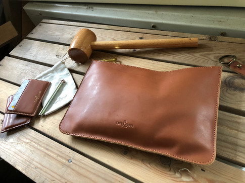 Torso House Leather Wallet