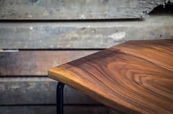 Neptune Walnut stool