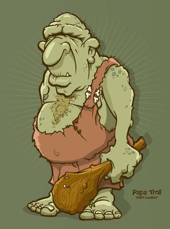 Troll Illustration