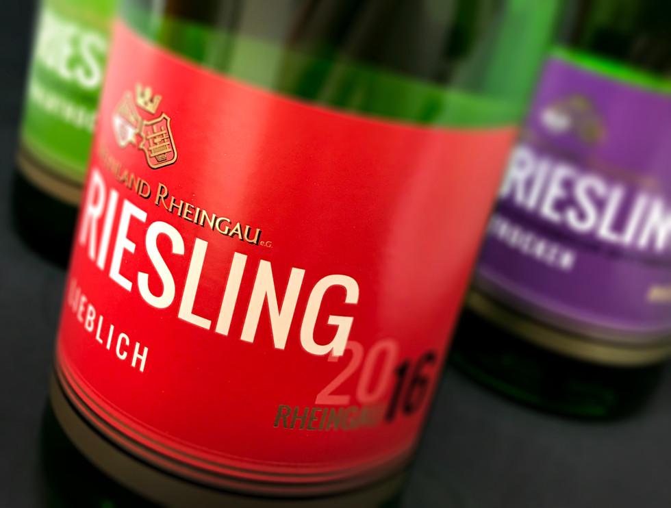 Weinland Rheigau Riesling range