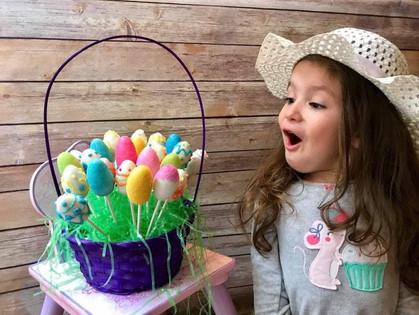 Easter Basket morning