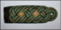 Shoulder board Forstrat 1929, Prussia, S