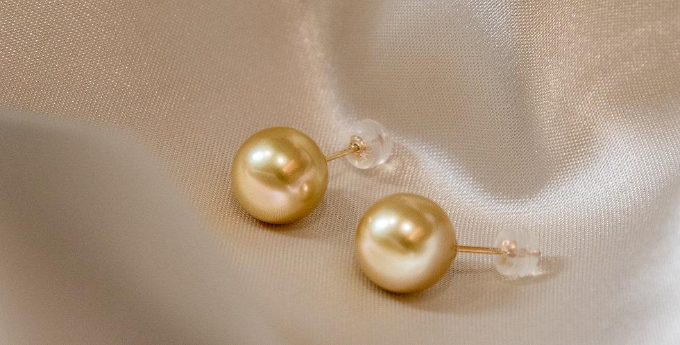South Sea Pearl Ear Studs