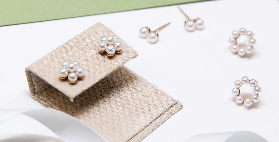 Petit Omiyage Pearl Ear Studs