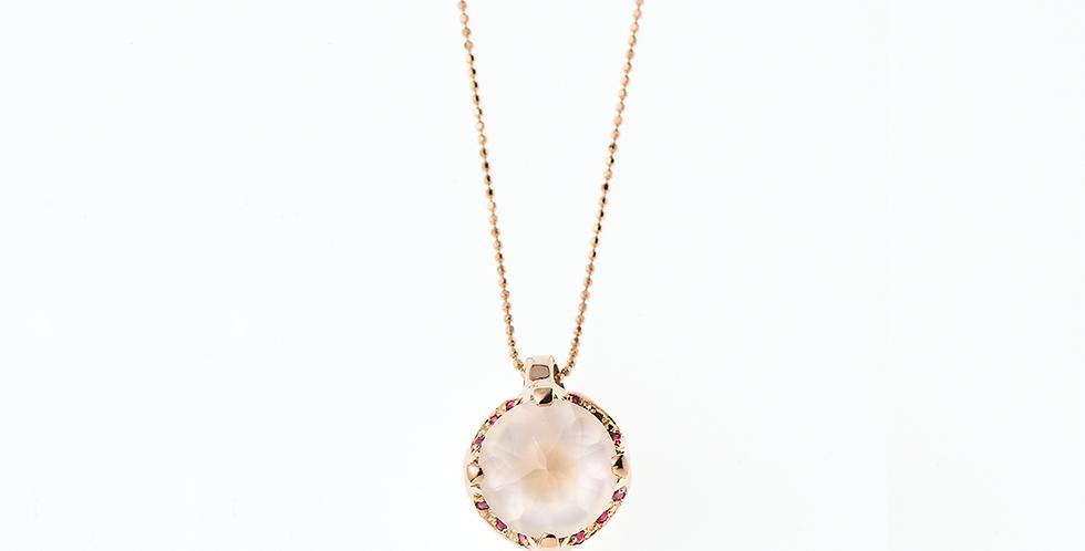 Camellia Necklace - Milky