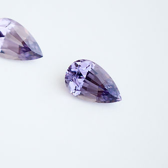 Lavender Spinel (pair)