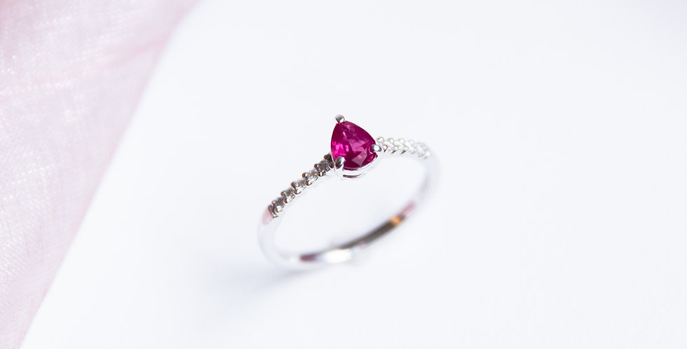 Dainty Ruby Ring