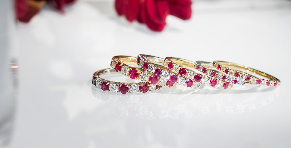 Classic Ruby Band Ring