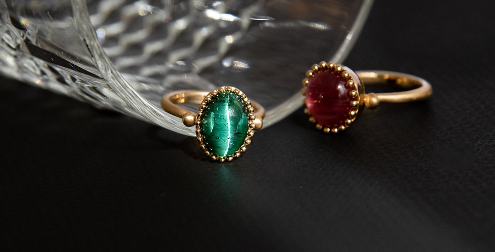 Fiesole Tourmaline Ring